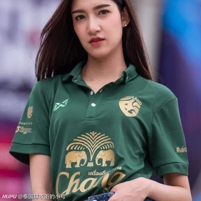 打几分?泰国足协与象牌啤酒合作25周年纪念款Polo衫发布  足球话题区